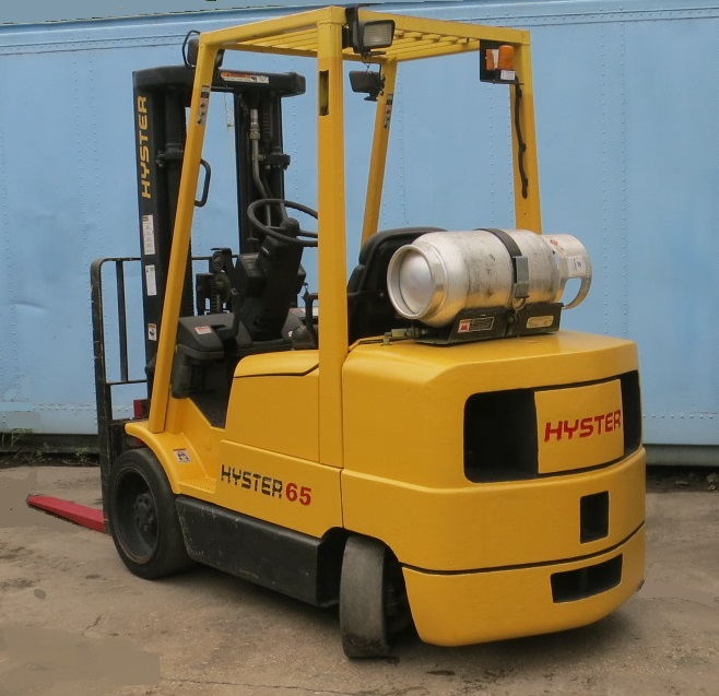 Hyster Hydraulics Disabled